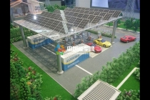光伏发电模型,光伏电站模型
