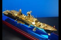 纯铜温州号 054型护卫舰模型