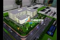 中国移动广州旗锐机房沙盘模型
