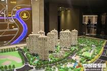 上海万科雅宾利展示沙盘模型