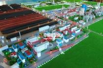 钢铁厂厂区规划模型