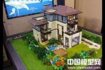 别墅模型主要突出环境观,建筑按部就班即可