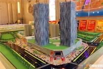 安庆新城吾悦广场展示销售沙盘模型