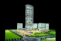 精品商业综合体模型:绿地保税中心模型,苏宁广场模型