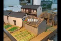 现代农业示范园沙盘模型