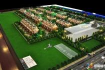 国信·金河世家建筑模型