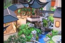 园林古建模型,天坛模型,木制古建模型