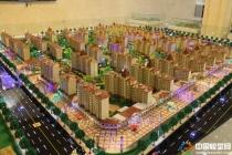悦康美景公园建筑模型,毅德城售楼展示沙盘