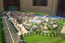 瑶族文化街沙盘模型