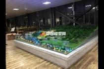 万安花园项目展示沙盘模型