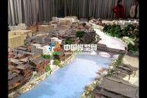 古建筑模型简单工艺出效果配景要求高