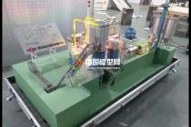 石膏生产线模型