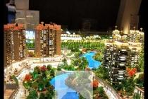 贵安山语城沙盘模型还原山语城最真实的家居故事