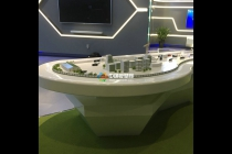 绿色施工工地场景建筑模型