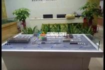 板式家具工业4.0生产线沙盘模型