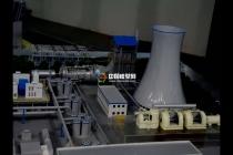 工业流程演示沙盘模型