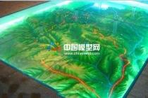 模型公司分析四类典型的地形地貌沙盘模型