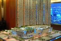 香港嘉亨湾项目沙盘模型