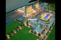 昆明火车站沙盘模型