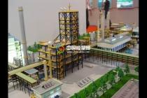 化肥原料生产线沙盘模型