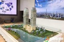 武汉绿地汉正中心建筑模型