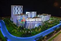 售楼建筑模型占据沙盘模型主要角色