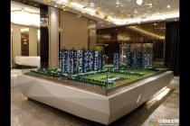京基御景中央售楼处沙盘模型
