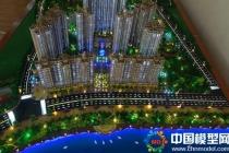 四季广场建筑模型,售楼展示模型