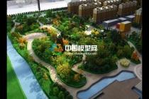 建筑模型与园林绿化是组成沙盘的2大部分
