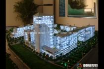 厦门航运中心模型,移动动漫基地模型