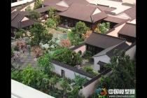 古建筑模型,苏州园林模型,亭台模型