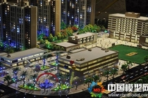 旭辉华庭售楼展示沙盘模型