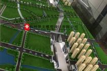 杭州地铁10号线一期工程沙盘模型