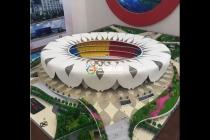 体育馆模型,体育场沙盘