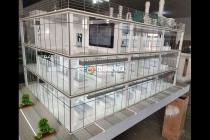 实验室系统工程沙盘模型