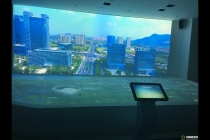 苏州有轨电车展厅数字沙盘模型