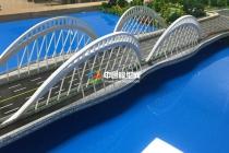 杭州亚运场馆北之江大桥场地模型