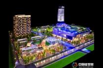 精品商业综合体模型:保利国际广场模型,拉特芳斯模型