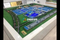绿色工厂沙盘模型
