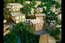 乡伴揽树山房建筑模型,展示沙盘模型