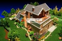 模型公司小聊别墅建筑模型风格与工艺无关