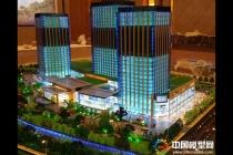上海富悦广场建筑模型,  杭州明珠一号展示模型,  城市广场沙盘模型