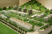 热电厂沙盘模型,发电厂沙盘模型,以供热为主要目的发电厂