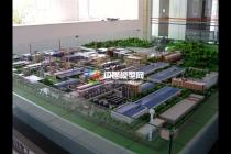 民丰化工厂沙盘模型
