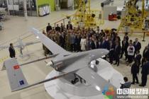 精致3D打印无人机模型作为贵宾礼送乌总统