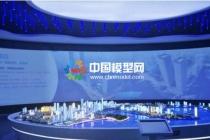 建筑沙盘模型展厅内为模型展示技术融入高科技