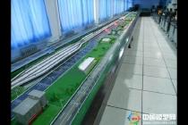 上海交大智能轨道交通演示沙盘模型