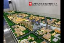 中铁一局杭富城际铁路SGHF-7标项目沙盘模型