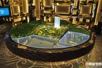 香港日出康城售楼处沙盘模型