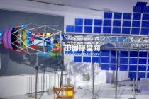 中国航天电磁推进热排放系统沙盘模型